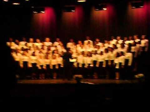 Sudbrook Magnet middle school chorus 2011