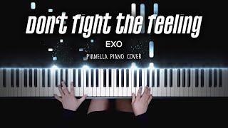 EXO - Don't fight the feeling   Piano Cover by Pianella Piano видео
