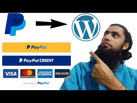🔥WordPress PayPal Smart Buttons Credit Debit Card | 👉Customer Pay Without PayPal [2020]