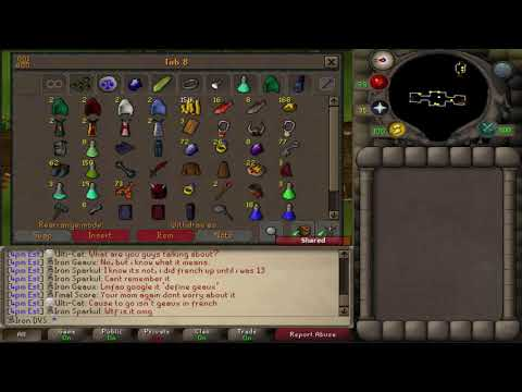 Ultimate ironman series 39 back to back 39 day 80 84 thou for Garden pool osrs