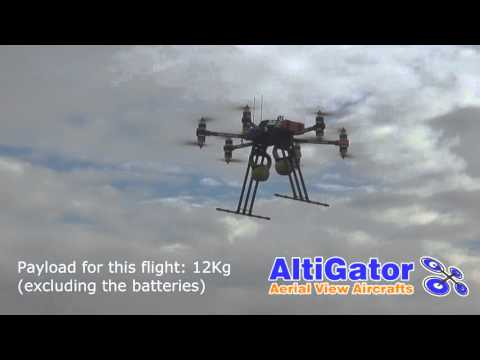 Drone: OnyxStar Hydra-12 with 12Kg of payload - heavy lifting
