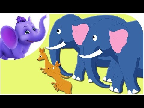 The Animals Came In Two By Two - Nursery Rhyme with Karaoke