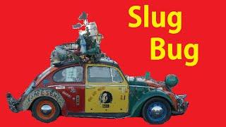 Weird Art Cars Funky Hippy Slug Bug Video Custom VW Beetle Funny