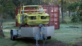 1972 BMW 2002Tii Dustless Blasting