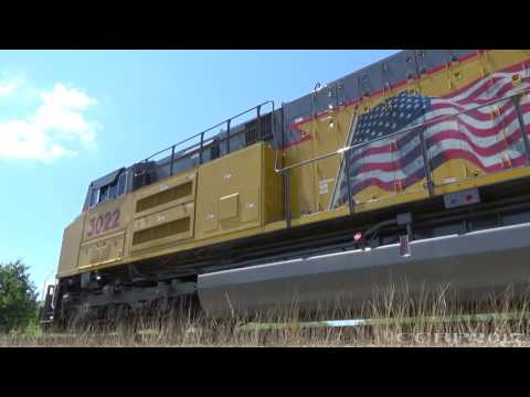 Sounds of the new EMD 12-1010J (SD70AH-T4) [Idle]