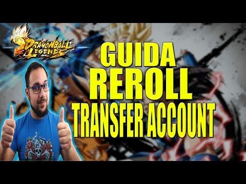Dragon Ball Legends - GUIDA REROLL & TRANSFER ACCOUNT