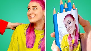 11 Funny and Useful School Hacks: DIY School Supply Ideas and More thumbnail