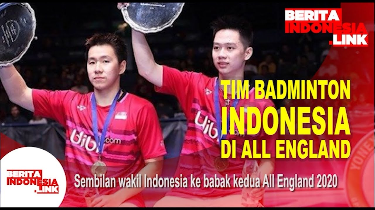 tim badminton indonesia di all england - YouTube