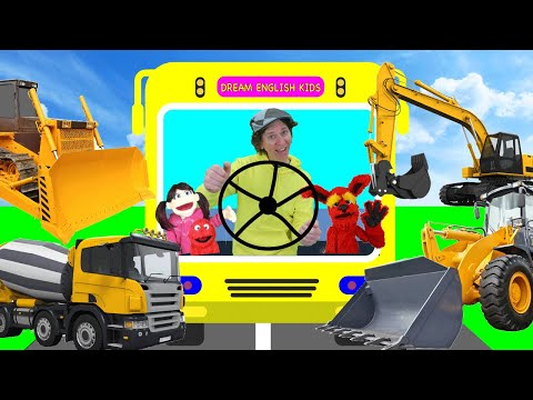 wheels-on-the-bus-construction-vehicles-with-matt-|-kids-songs,-nursery-rhymes-|-learn-english-kids