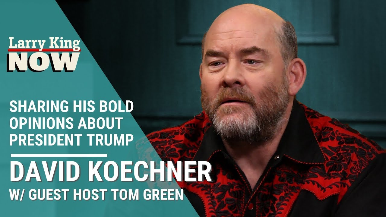 Download David Koechner Shares His Bold Opinions About President Trump