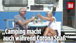 Trotz neuer Regeln ist der Andrang auf Campingplätze an deutschen Küsten riesig