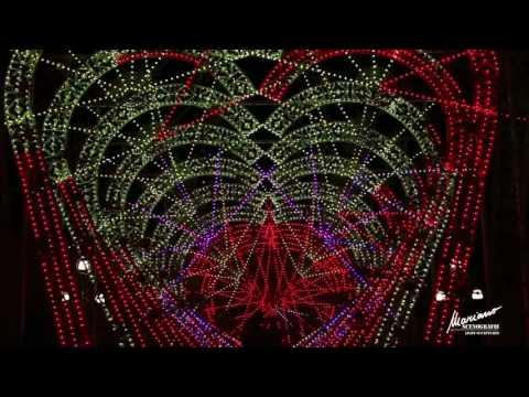 Amazing Musical Light Sculpture using Minleon Lighting