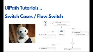 UiPath Switch Cases, Flow Switch Example
