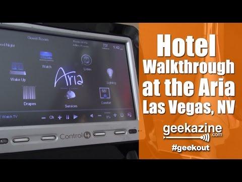Aria Hotel Video Walkthrough: Las Vegas NV
