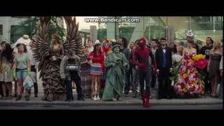 The Amazing Spiderman 2 The Famous Spiderman scene