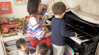 突然始まったあやなん先生のピアノ教室♪