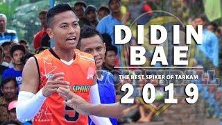Didin Bae Spiker TARKAM Terbaik di awal Tahun 2019 Versi Volleyball Tarkam