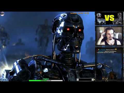 [Не затащенно] RoboCop Versus The Terminator [hard] | Игра  (SEGA Genesis, Mega Drive)1993 Стрим RUS