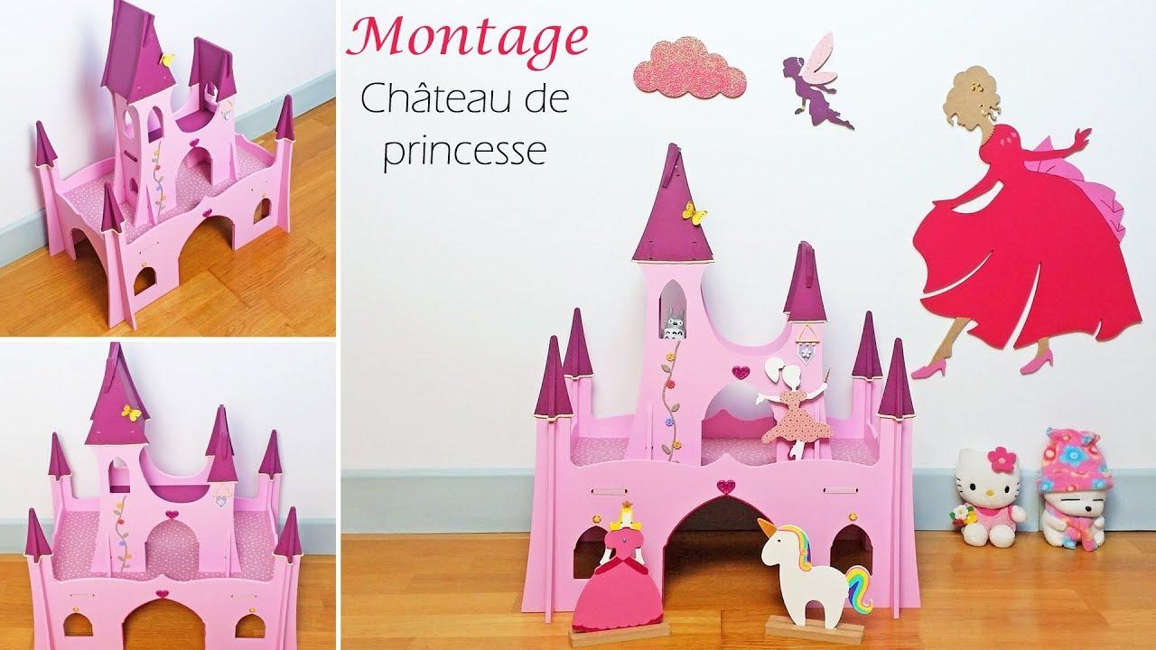 diy tutoriel montage ch teau de princesse en bois pour jouer avec des figurines f es. Black Bedroom Furniture Sets. Home Design Ideas