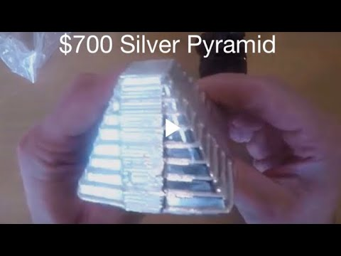 Unboxing 1 Kilo Silver Bullion Aztec Pyramid .999 Collectible