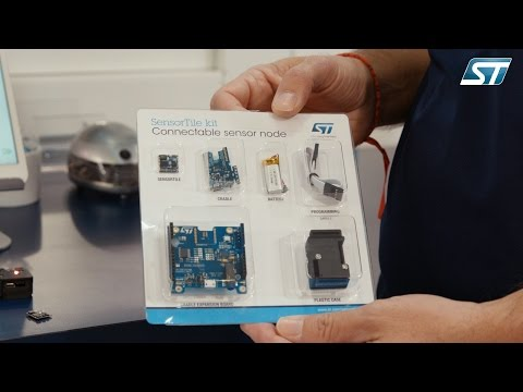 From Sensors 2016 show - SensorTile, 10 degrees of freedom