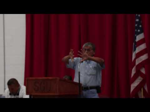 Ben Black Bear Jr.--The State of Lakota language and Treaty Rights--August 22nd, 2017