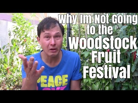 Why I'm NOT Going to the Woodstock Fruit Festival - I wasn't BANNED
