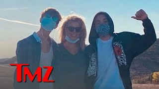 Britney Spears Emotional Birthday Wishes for Sons Jayden and Sean | TMZ TV