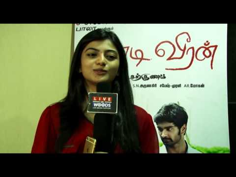 Actress Anandhi Interview Chandi Veeran Movie Experience