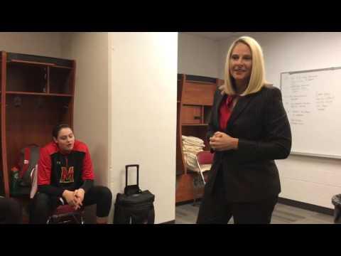 Brenda Frese pregame speech (12/1/16)