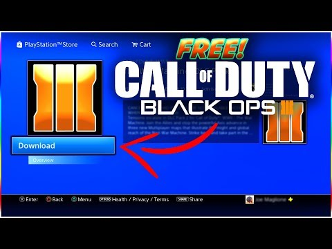 HOW TO DOWNLOAD 'BLACK OPS 3' FOR FREE ON PS4! | CALL OF DUTY BO3 FREE FOR ONE MONTH!