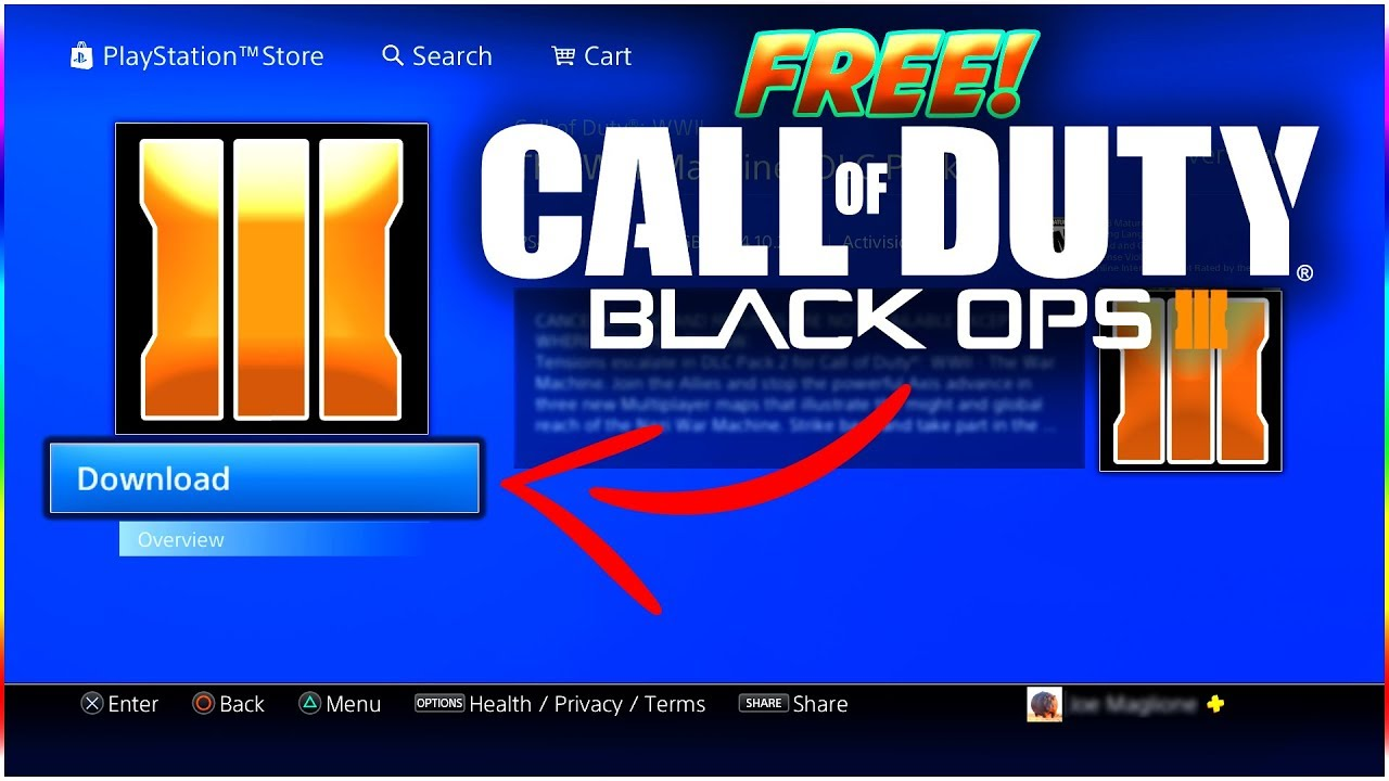 how to download cod bo3 for free pc