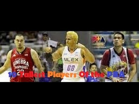 10 Tallest Players in the PBA (Now and Then)