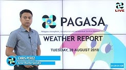 Public Weather Forecast Issued at 4:00 AM August 28, 2018