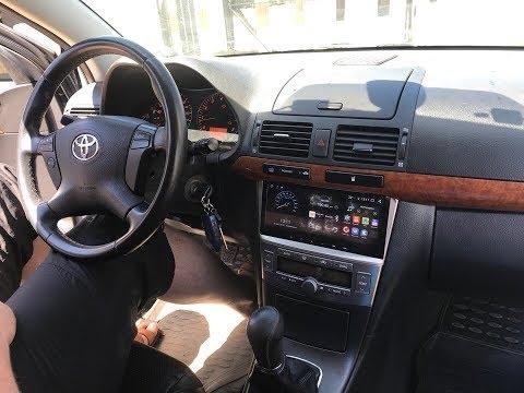Магнитола на Toyota Avensis T250 Android 7.1.2 #MegaZvuk