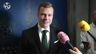 Victor Claesson - om vilken klubb han vill spela för!
