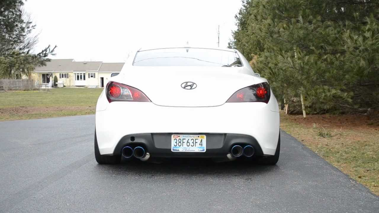 Genesis Coupe 2 0t Cnt V3 Catback Exhaust Youtube