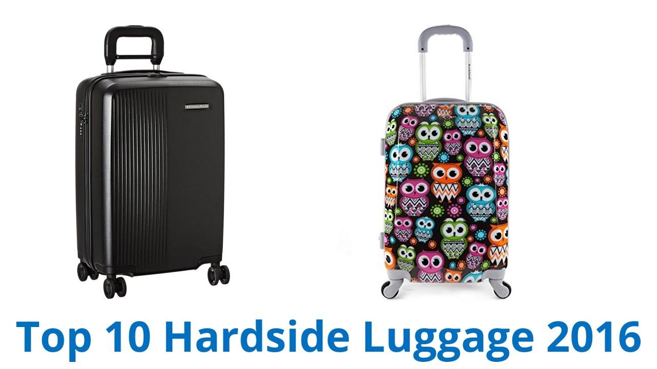 10 Best Hardside Luggage 2016 - YouTube