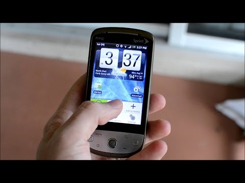 HTC Hero - One of the First Android Smart Phones - 6 Years Later Review