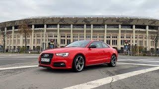 тест-драйв Audi A5 2016