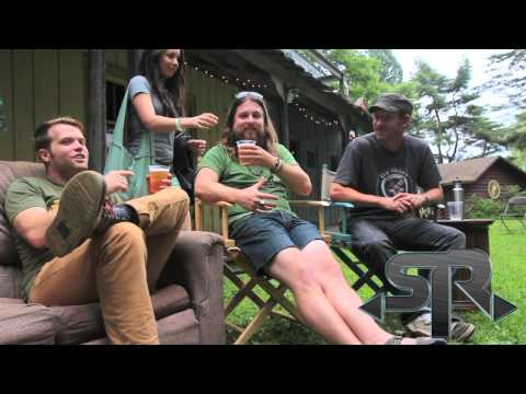 Greensky Bluegrass interview @ Electric Forest Music Festival 2013 Rothbury Michigan