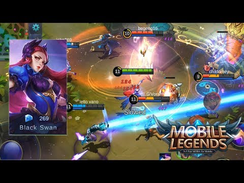 SKIN BARU ODETTE ? MAKIN GILA SI ODETTE ? - Mobile Legends Indonesia