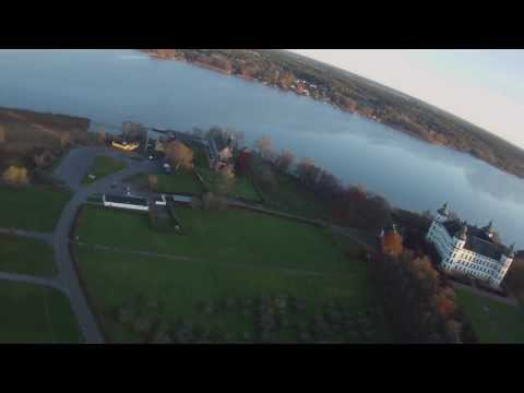 Test flight with Contour HD on a RC depron plane o