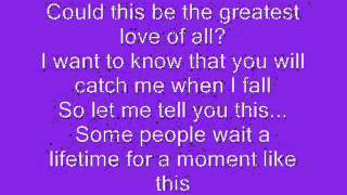 kelly clarkson a moment like this lyrics youtube