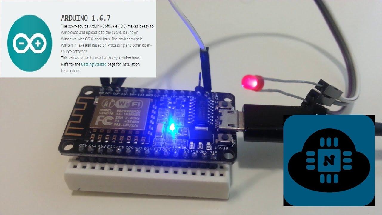 Light Wiring Diagram Pdf How To Program Esp8266 Esp 12e Nodemcu Using Arduino Ide