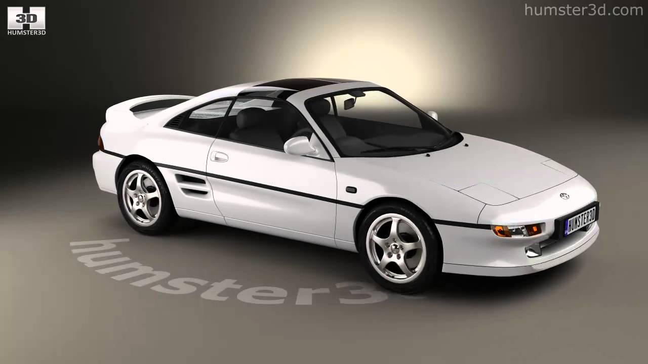 Toyota Mr2 1990 3d Model By Humster3d Com