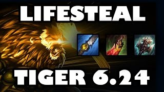 Lifesteal DPS | Bloodrazor Tiger Udyr Jungle Guide [6.24]