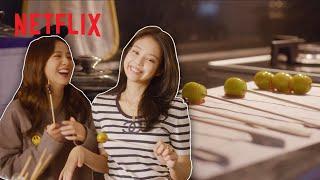 Making Tanghulu with Jisoo &amp Jennie  BLACKPINK: Light Up the Sky  Netflix Futures