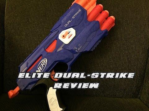 Nerf N-Strike Elite Dual-Strike | Unboxing, Review, & Shooting