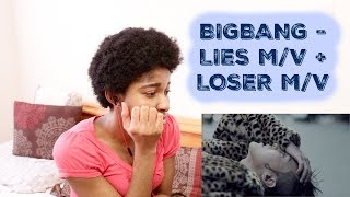 BIGBANG - LIES(거짓말) M/V + LOSER M/V [BIGBANG REACTION] ---------...